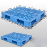 De dubbel Onder ogen gezien HDPE Standaard Plastic Pallet van de Injectie
