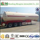 3-Axle 58.8cbm LPG Gas-Transport-Becken-halb LKW-Schlussteil