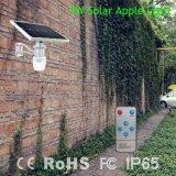 люминер сада батареи Лити-Иона 9W солнечный с дешевым ценой