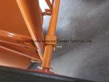 Gutes Aufbau-Metaltellersegment und Rahmen-Schubkarre (Wb6210)