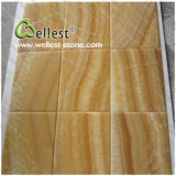 BathroomまたはTops/Wall/Floor/BackgroundのためのJ116 Beautiful Yellow Honey Onyx Marble Tile