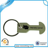 Metal promocional Keychain del anillo dominante de la insignia del regalo