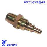 Accoppiamento rapido dell'adattatore adatto idraulico del connettore del tubo flessibile per la valvola