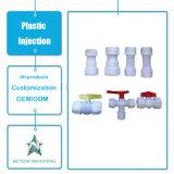 Modelação por injeção plástica plástica personalizada de encaixe de tubulação do T do cotovelo das peças industriais