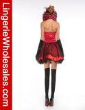 Ферзь платья партии Halloween женщин Costume Cosplay сердца