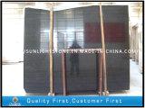 Mattonelle di pavimento di legno nere del marmo della vena della Cina per la cucina/stanza da bagno decorative