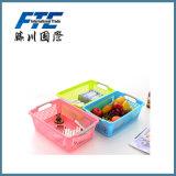 cestino di plastica di alta qualità di 35*45*38cm piccolo per la cucina