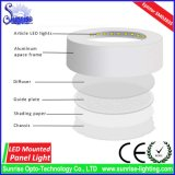 Ce/RoHS runde Panel-Deckenleuchte der Montierungs-18W LED