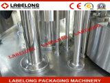 Maquinaria de relleno completa llena de la cerveza para las botellas de cristal
