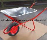 Carrinho de mão de roda do Wheelbarrow Wb6425 da construção do russo