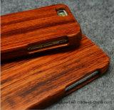 High-End de Laser van de Luxe graveert Geval van de Telefoon van de Cel van de Douane het Echte Houten voor Geval van de Dekking van de Telefoon van iPhone 5s/Se/6/6s het Mobiele
