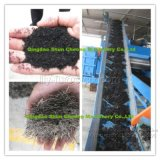 Gomma residua che ricicla riga, polvere di gomma che fa pianta