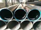 34CrMo4 Thin Wall Seamless Steel Pipe para Gas Cylinder