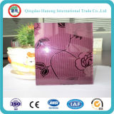 Vidrio Decorativo de Vidrio de Arte Diseñado con ISO Ce