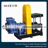 Zv Bewegungslaufwerk-zentrifugale Schlamm-Hochleistungspumpe für Bergbau-Rückstand-Anwendungen