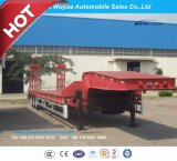 13m 3 Eixo Low Bed Semitailer ou Lowboy Semi Truck Trailer