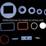 Personalizou todas as peças dos anéis-O das gaxetas da borracha de silicone do tamanho com alta qualidade