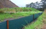 ブラウンカラー沈泥の塀、Weedのマット