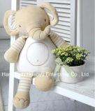 Brinquedo animal do estilo do luxuoso macio orgânico do bebê da tela