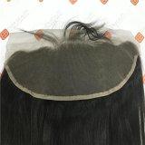Parrucche frontali della chiusura del merletto con le estensioni brasiliane dei capelli del Virgin dei capelli di Remy