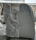 墓のためのカスタム花こう岩または大理石の現実的な記念の赤ん坊の角度記念碑の墓石