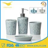Insieme accessorio del bagno della stanza da bagno di ceramica su ordinazione poco costosa di disegno moderno