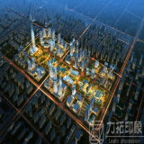Modèle architectural du virtual reality 3D