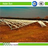 Sistema/parentesi solari a terra galvanizzati del montaggio di PV
