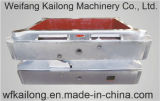 Matraz del bastidor usado en la máquina que moldea