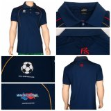 Healong Sportkleidung-Oberseite-Marken-volles Sublimation-Polo-Hemd