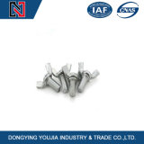 Boulon d'amorçage d'aile de guindineau de l'acier inoxydable M5 304 plein avec la noix