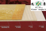 Plancher de parquet machiné par chêne rustique de modèle