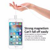 Câble de remplissage de téléphone d'aimant de foudre pour l'iPhone et l'androïde