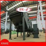 オンラインストリップのショットブラスト機械(ステンレス鋼、ケイ素の鋼鉄の、チタニウム鋼鉄ベルト、等)