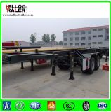 20FT 40FT 2 Axle Skeleton Container Skeletal Semi Trailer Chassis Frame