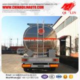 De Afmetingen van de wielbasis 6000mm + 1305mm + 1305mm De Aanhangwagen van de Olietanker