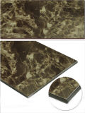 Uso compuesto de aluminio del panel de Emperador para la decoración de la pared de cortina