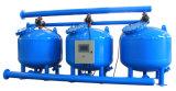 يمرّ خضربة ماء آليّة جانبا [سند فيلتر] في [كول توور] يتناقل ماء صناعيّة