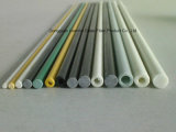 Tubo resistente a los choques de Fiberglass/GRP/FRP, poste, tubo para la tela