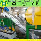 Película plástica eficiente elevada que recicl a linha para esmagar o animal de estimação plástico de lavagem dos PP do PE com granulador molhado