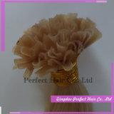 Cabelo da queratina de Remy Italy das extensões do cabelo