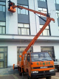 Isuzu Double Cab Aerial Platform Vehicle