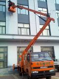 Isuzu doppeltes Fahrerhaus-Luftplattform-Fahrzeug
