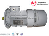 Hmej (Wechselstrom) Aluminiumelektrischer Magnetbremse Indunction Dreiphasenelektromotor 180L-6-15
