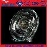中国U210の105knによって強くされる中断ディスクのガラス絶縁体IEC -中国11kvの絶縁体、20kv絶縁体