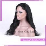 Parrucca reale di Short dei capelli umani di Remy del merletto pieno anteriore