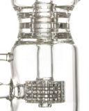 Dreifaches Schaltklinke Perc Klein Incycler Huka-Glas-rauchende Wasser-Rohre (ES-GB-338)