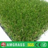 сад 40mm Height UV Resistance V Shape & Balcony Artificial Turf Grass