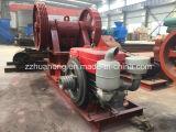 Mini trituradora de piedra diesel para la minería