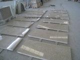Tuile et brame grises de granit de propriétaire de la carrière G603 pour la partie supérieure du comptoir